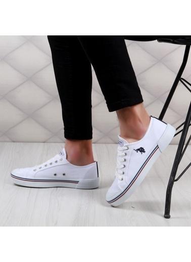 U.S. Polo Assn. Penelope 1Fx Beyaz Erkek Günlük Konvers Ayakkabı Beyaz